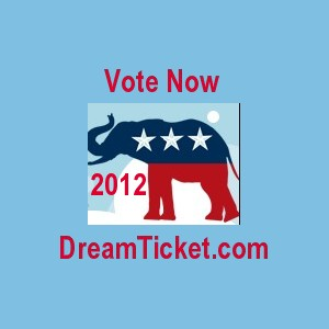 Vote Now | 2012 DreamTicket.com | Lake Worth Florida